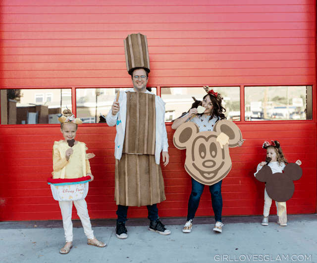 Disney Treats Family Costume