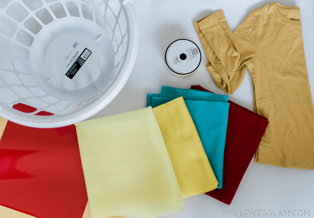 Dole Whip Costume Materials
