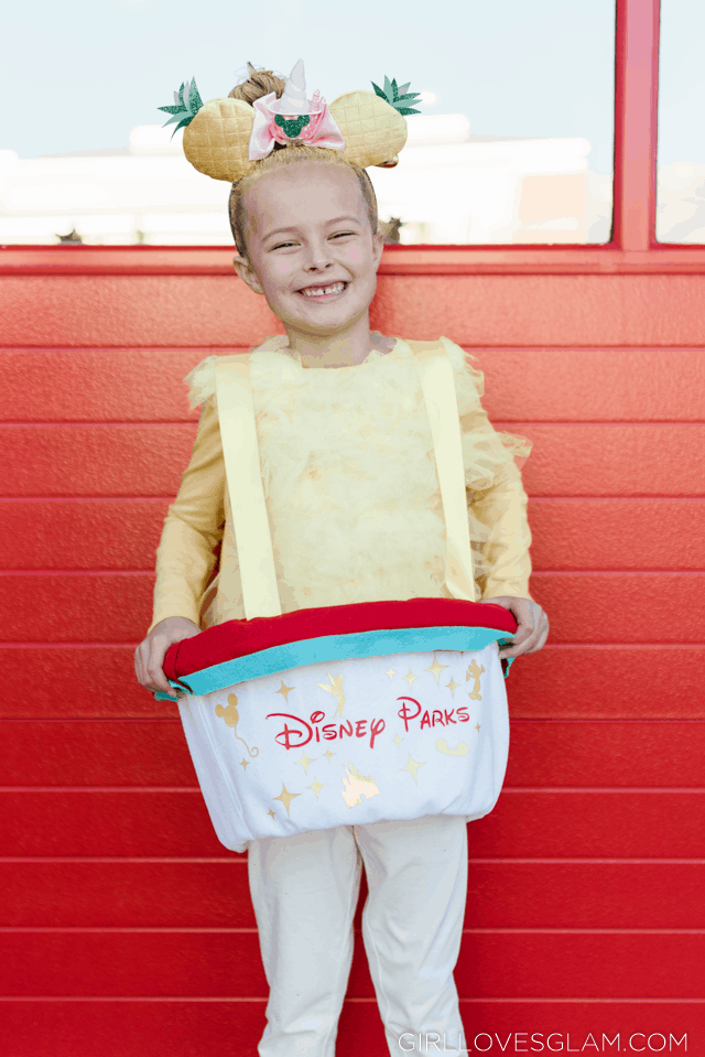 Dole Whip Costume No Sew