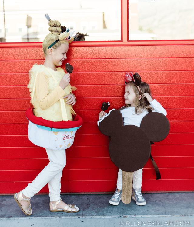 Dole Whip and Mickey Ice Cream Bar Costume