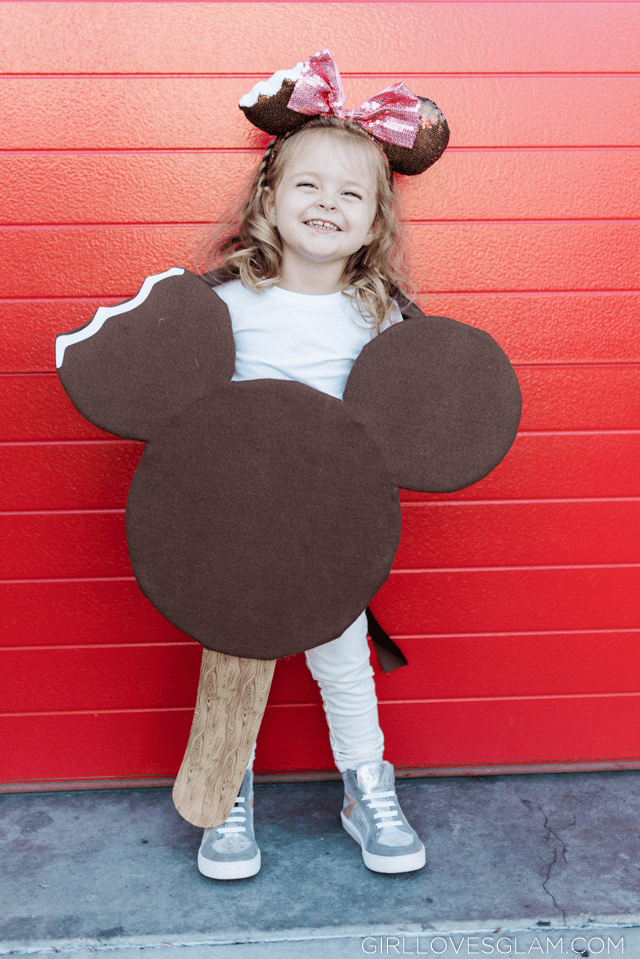 Mickey Ice Cream Bar Costume Tutorial