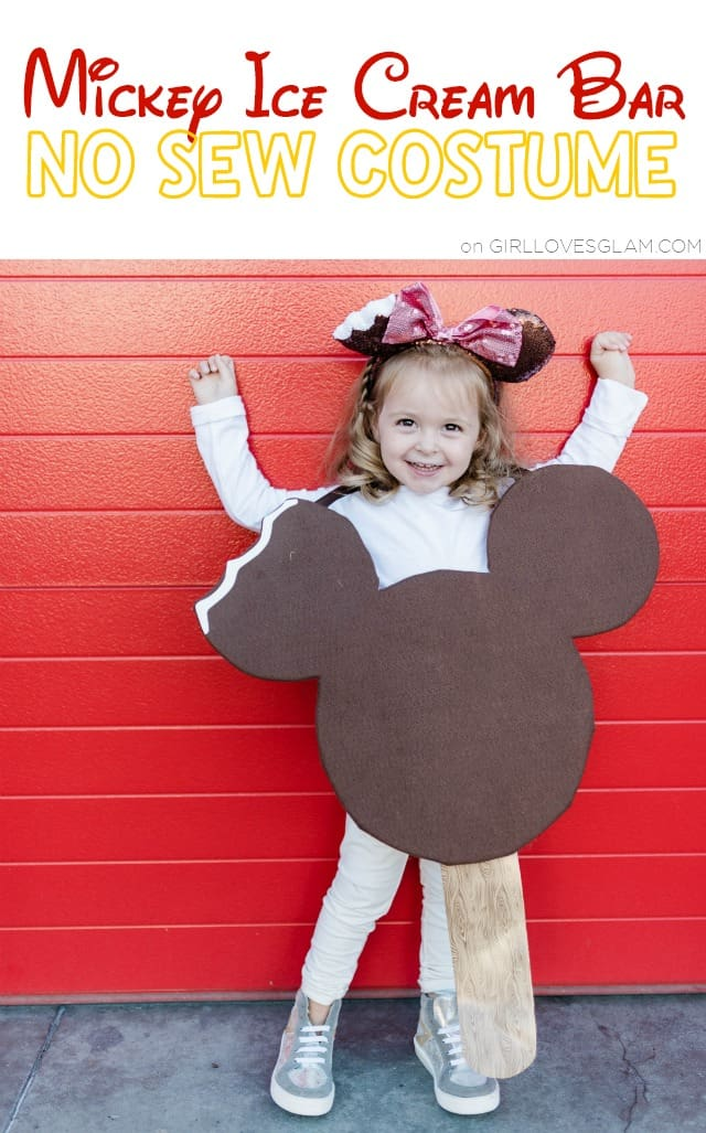 Mickey Ice Cream Bar Costume