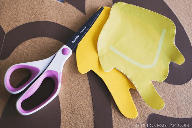 Cutting craft foam