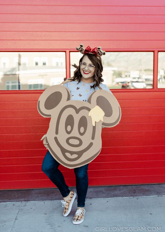 Easy Mickey Waffle Costume