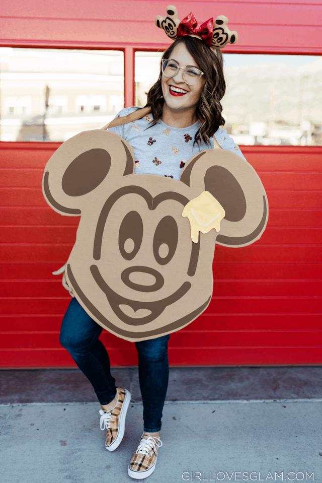 Mickey Waffle Costume No Sew