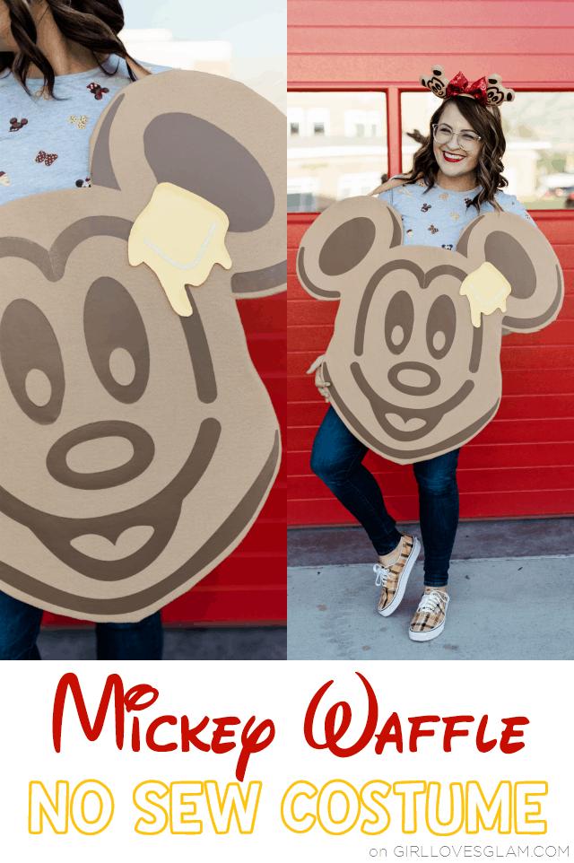 No Sew Mickey Waffle Costume