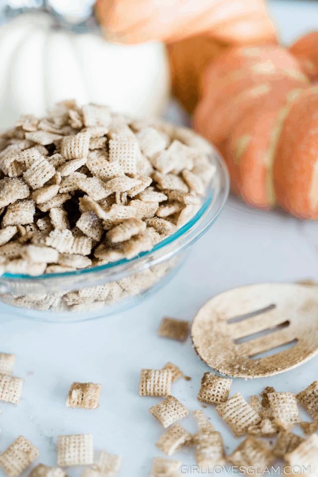 Pumpkin Pie Chex Mix