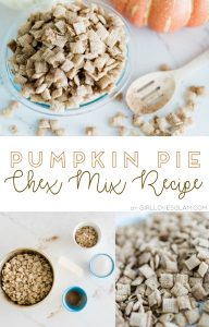 Pumpkin Pie Chex Mix Recipe