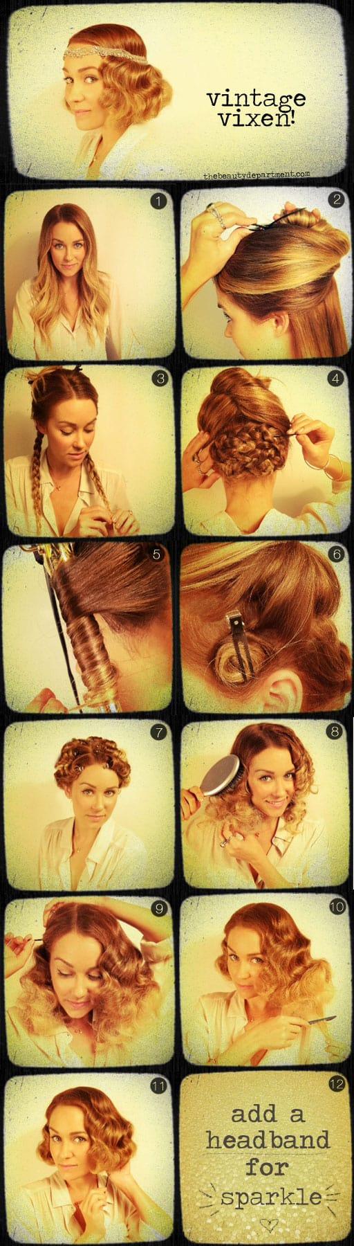 Vintage Vixen Hairstyle