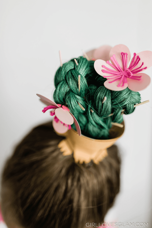 Cactus Crazy Hair Day Idea