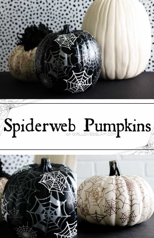 Spiderweb Pumpkins