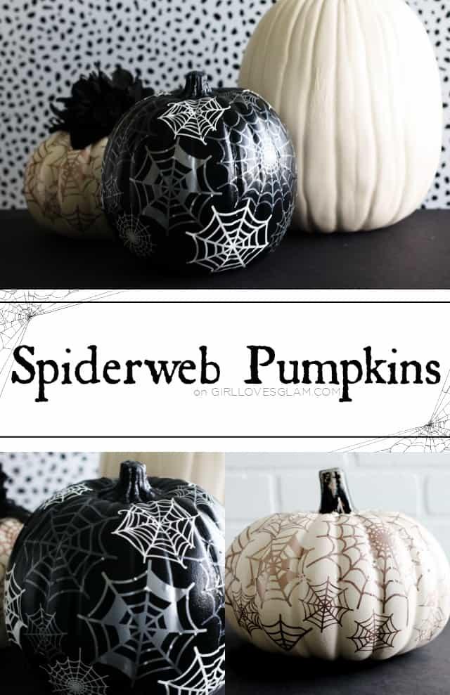 Spiderweb Pumpkins