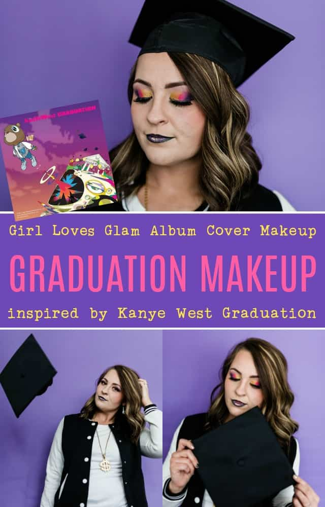 Kanye West Graduation Album Cover Makeup on www.girllovesglam.com