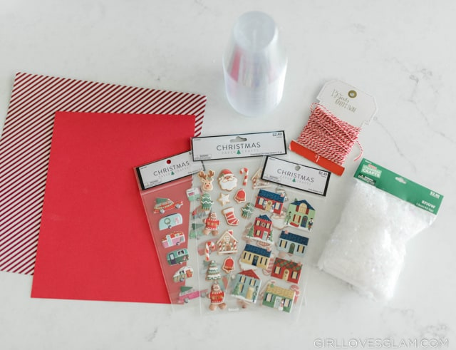 Snow Globe Ornament Supplies