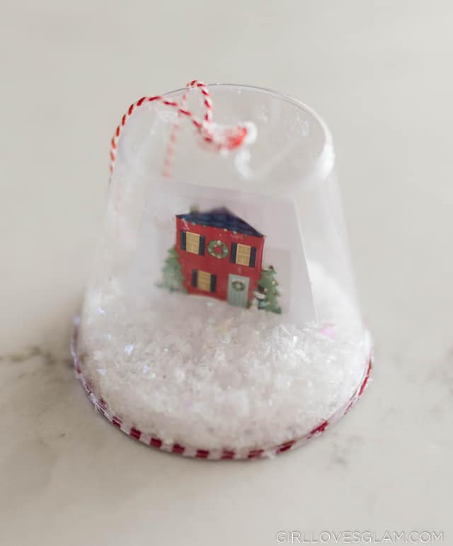 Christmas Snow Globe Kid Craft