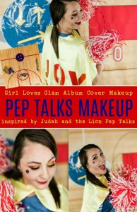 Judah and the Lion Pep Talks Album Cover Makeup
