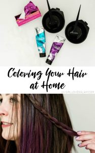 Coloring Your Hair at Home