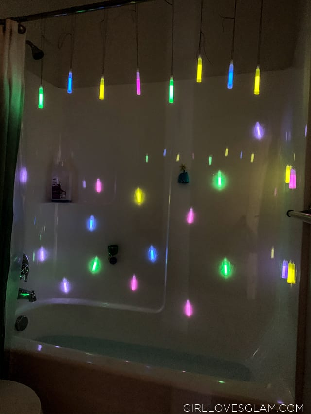Glow Stick Bathtub