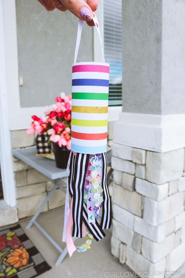 Toilet Paper Roll Craft Windsock