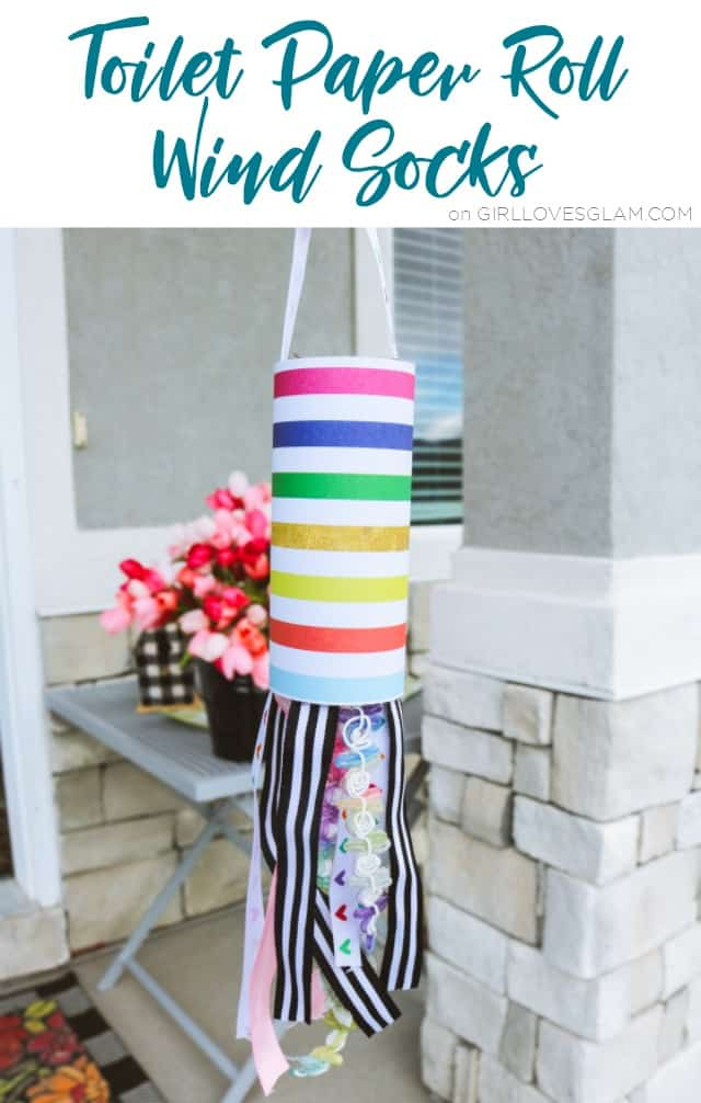 Toilet Paper Roll Wind Socks