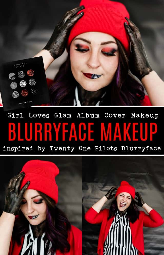 Twenty One Pilots Blurryface Makeup