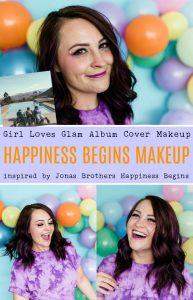 Jonas Brothers Happiness Begins Album Cover Makeup