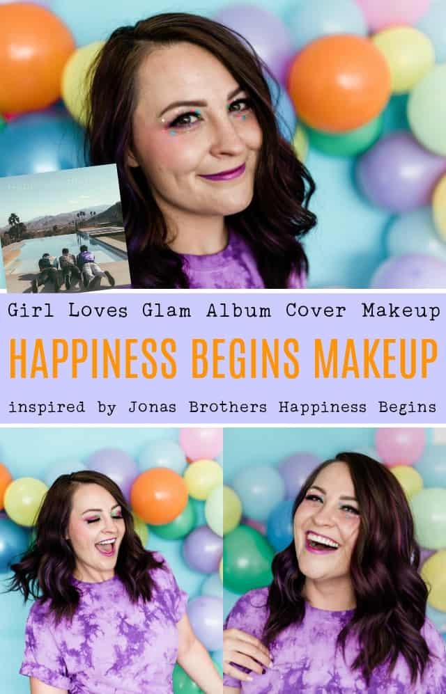 Jonas Brothers Happiness Begins Album Cover Makeup