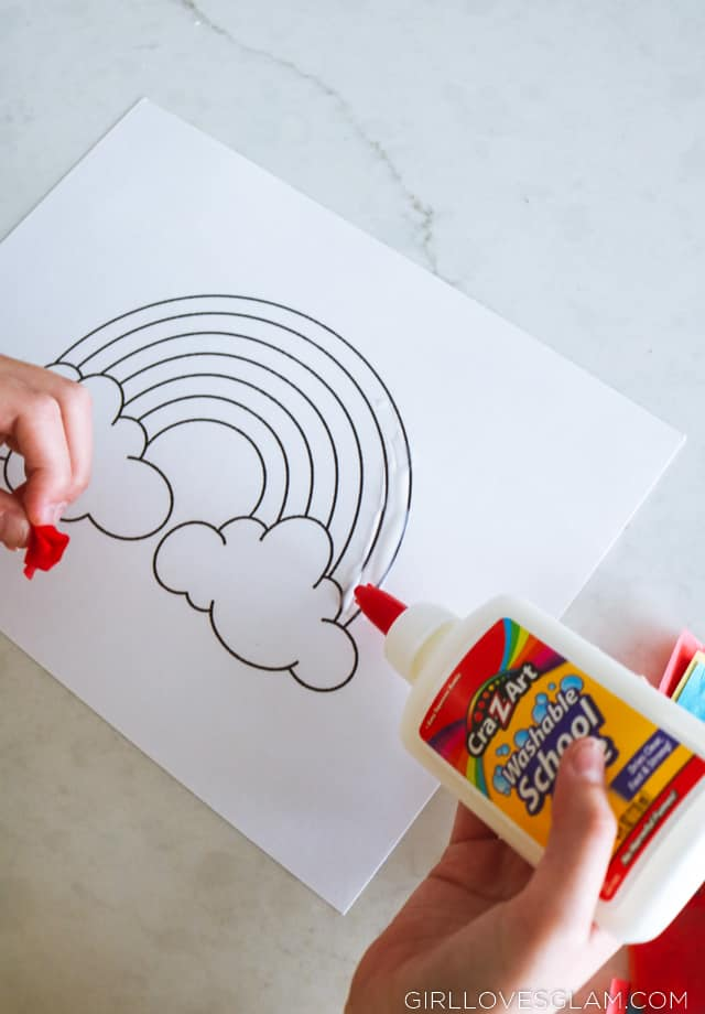 Alternative way of using coloring pages