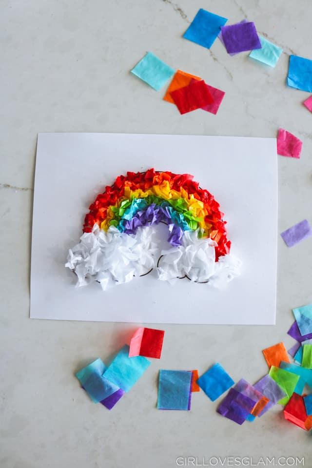 Tissue Paper Children's Craft