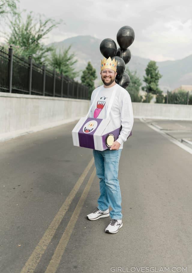 King Boo Mario Kart Costume