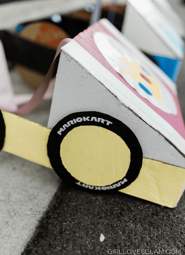Mario Kart Cardboard Tires
