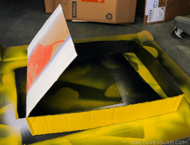 Painting Mario Kart Box Cars
