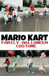 Mario Kart Family Halloween Costume
