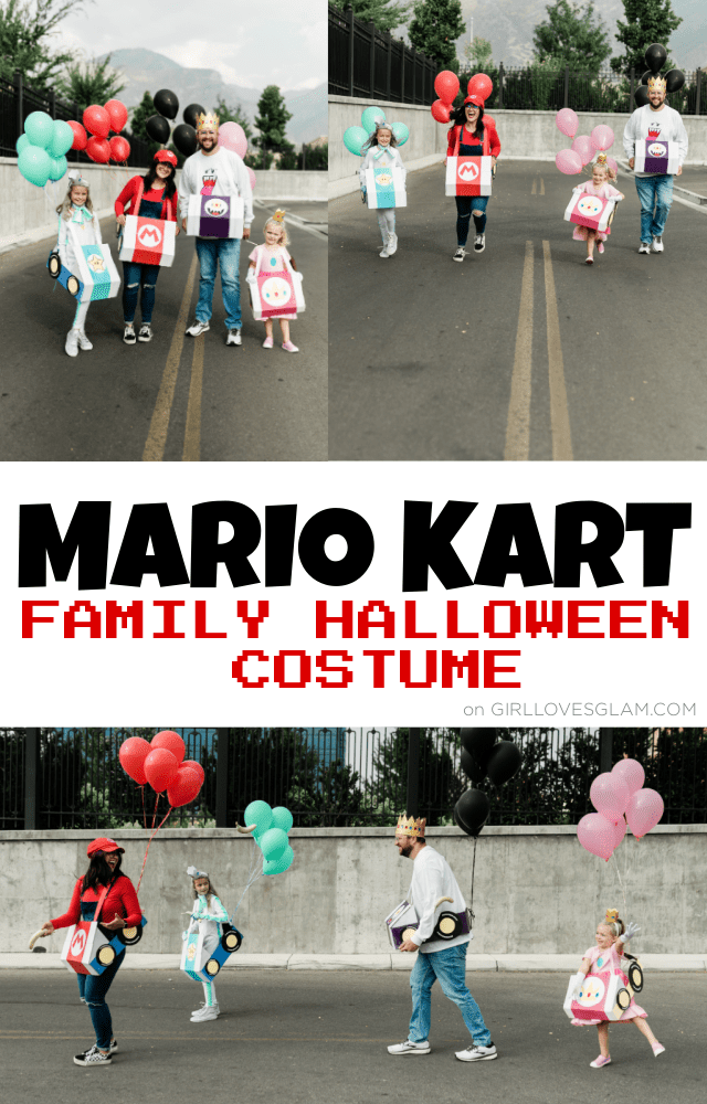Mario Kart Family Halloween Costume