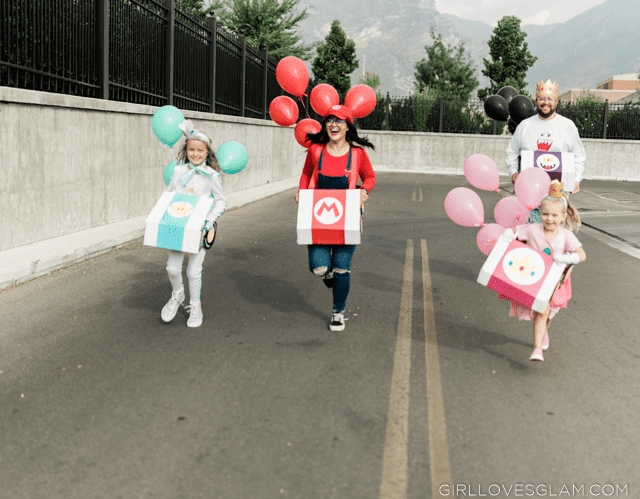 Mario Kart Halloween Group Costume