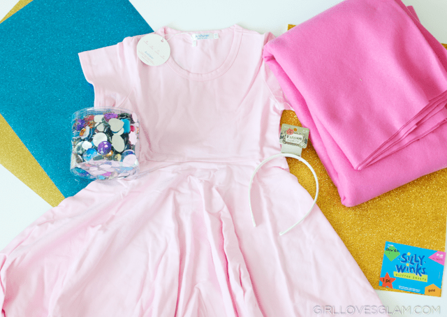 Princess Peach Halloween Costume Supplies