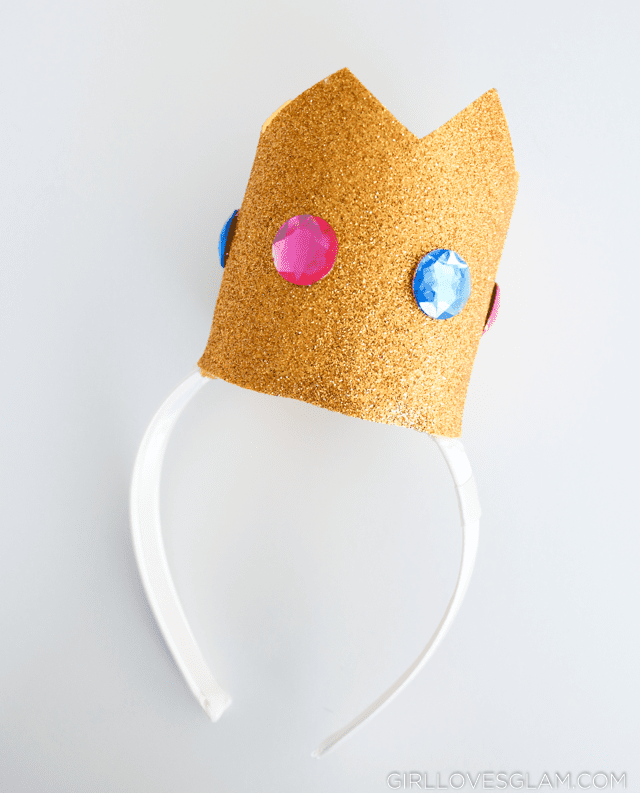 Princess Peach Crown Headband