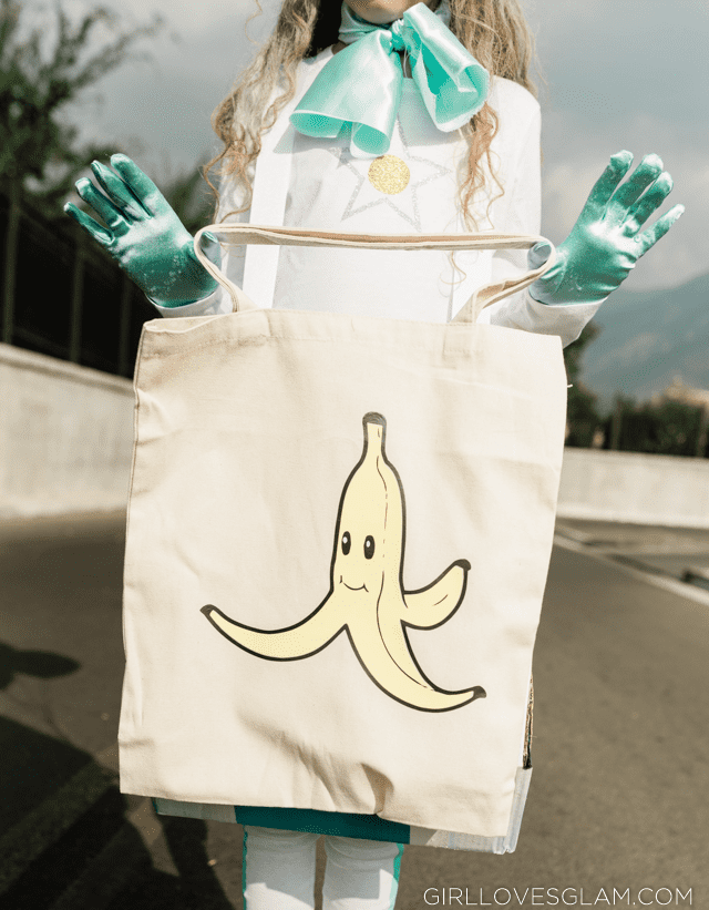 Mario Kart Banana Treat Bag