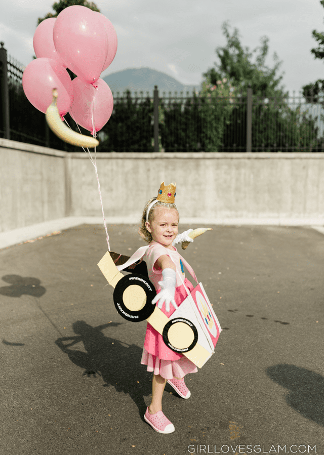 Mario Kart Princess Peach Costume