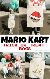 Mario Kart Treat Bags