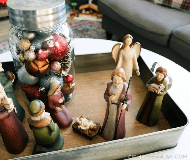 Simple Nativity Display