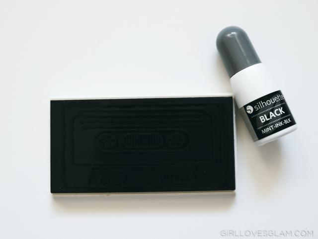 Silhouette Mint Custom Stamp