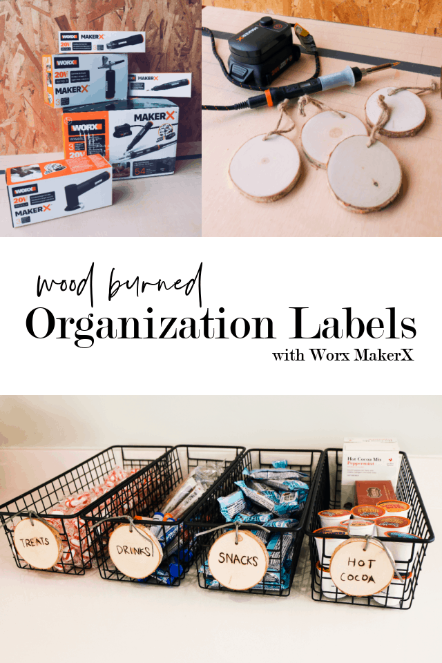 Wood Burned Organization Labels