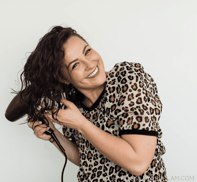 Blow drying with a diffuser
