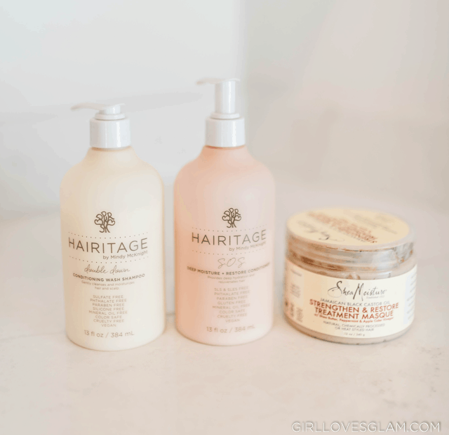 Curly Hair Shampoo and Conditioner