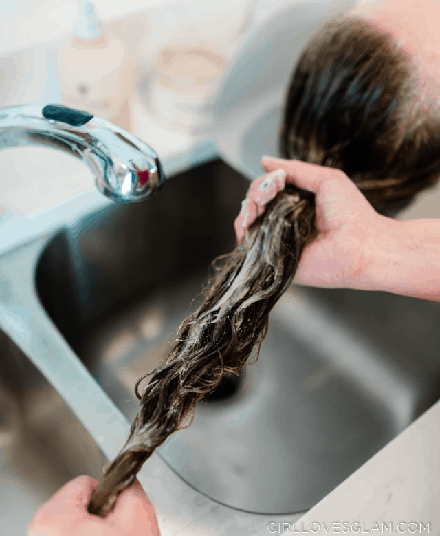 Conditioning Curly Hair