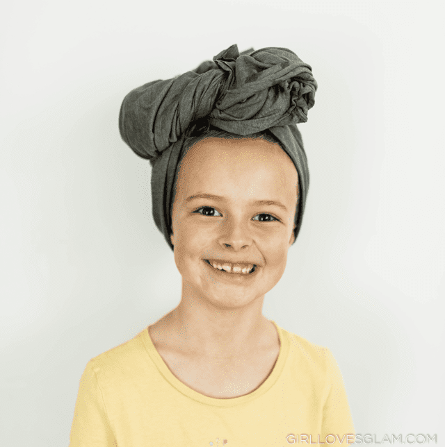 Jersey Knit Towel for Curly Hair