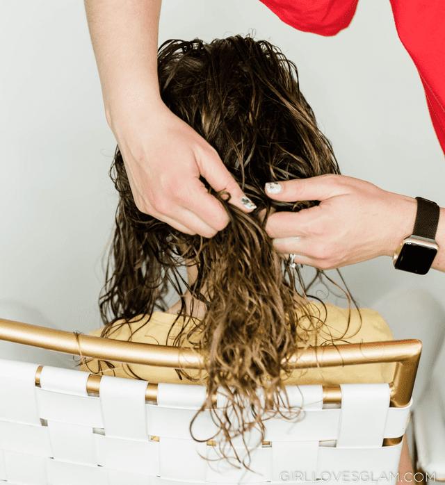 Using Gel in Curly Hair