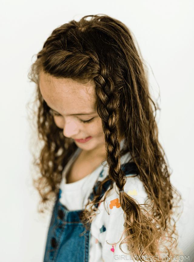 Basic Braiding Curly Hair