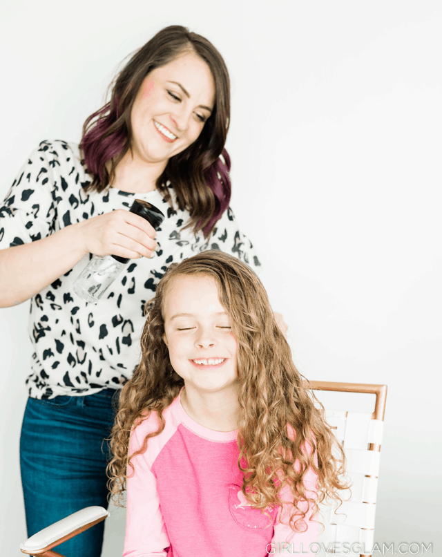 Styling Curly Hair While it is Dry